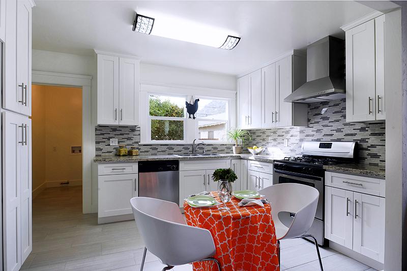 Classic White Shaker Kitchen Cabinet - Kitchen Cabinets ...