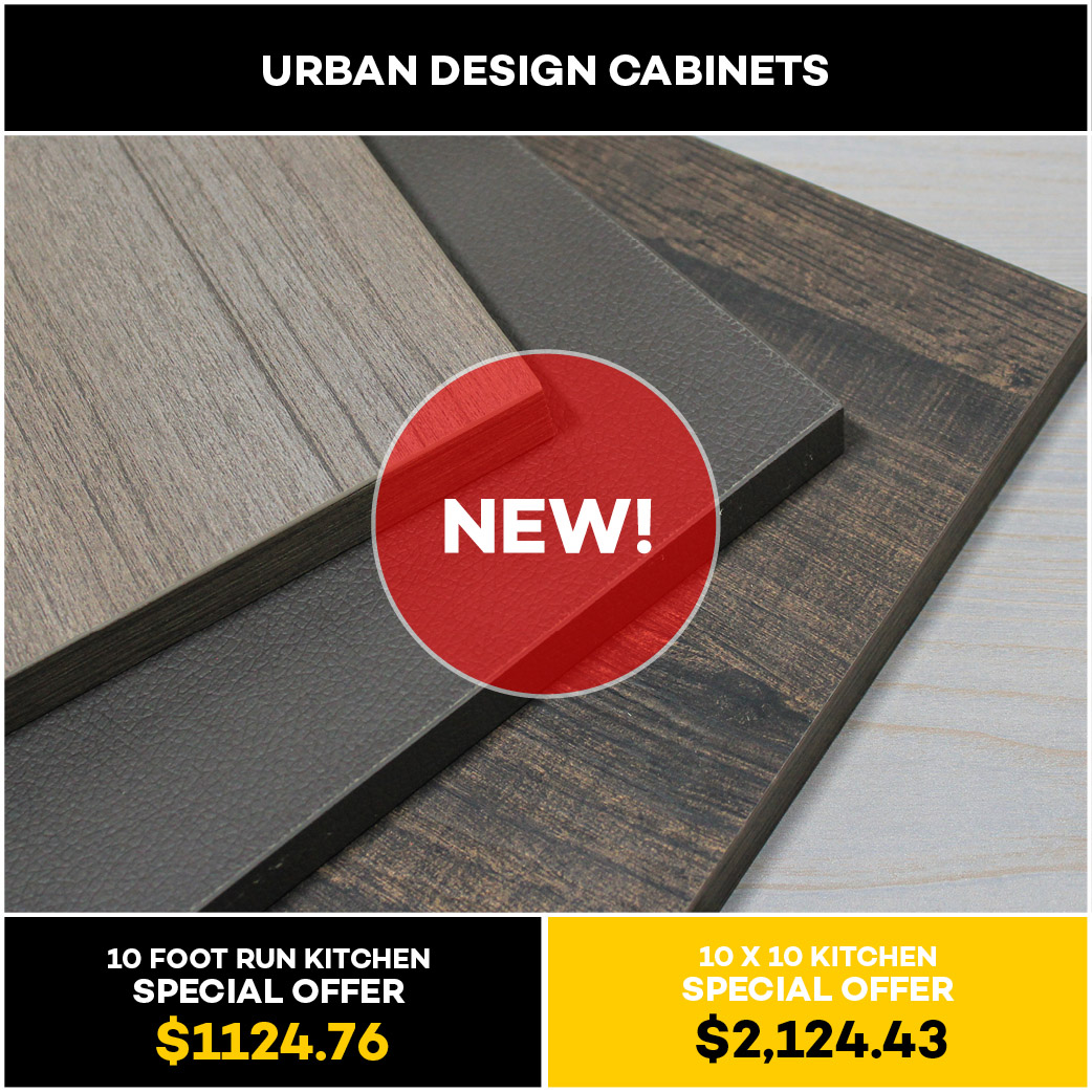 Urban Design Kitchen and Bath Cabinet