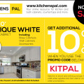 Affordable White Shaker Kitchen Cabinet