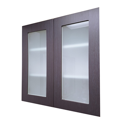 Kitchen Wall Cabinet With Glass Door