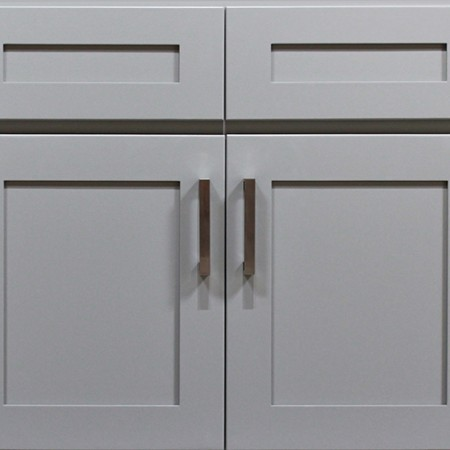 Gray Shaker Kitchen Cabinet