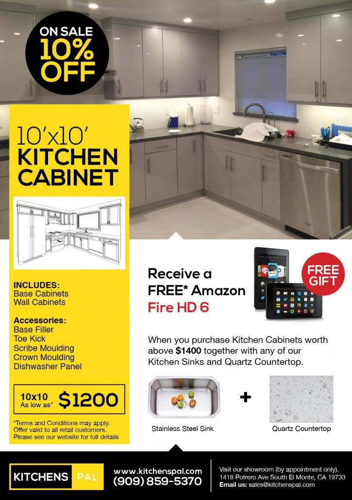 Sale 10x10 Kitchen Cabinet
