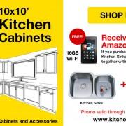 10x10 Kitchen Cabinet Promotion