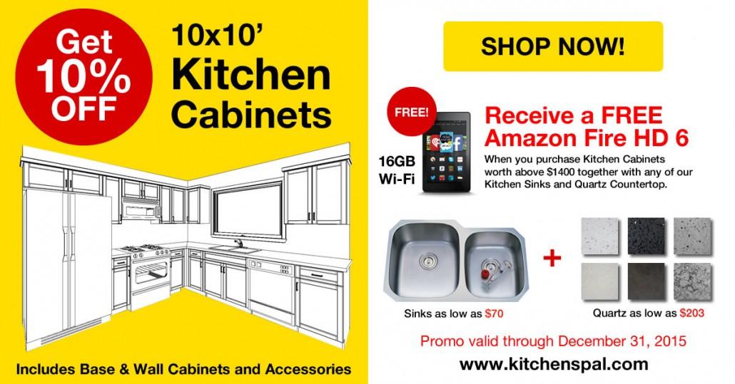 10x10 Kitchen Promotion
