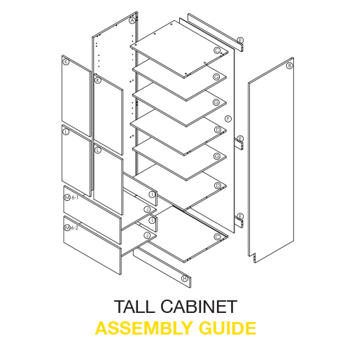 Tall Cabinet Assembly Instructions