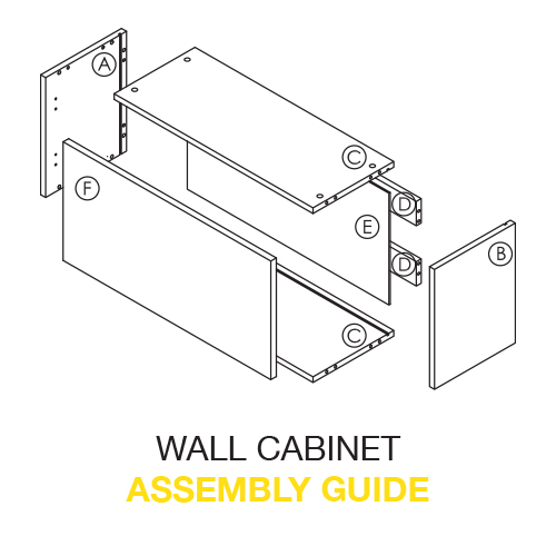 Wall CABINET Assembly Guide-2