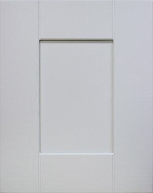 White Shaker Kitchen and Bath Cabinet