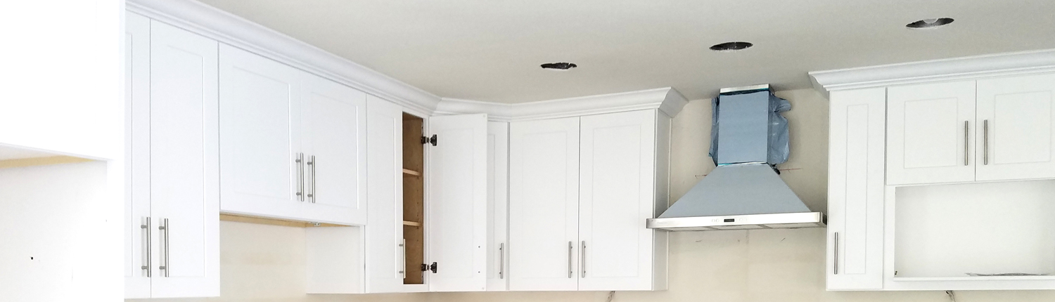 Hampton White Shaker Kitchen Cabinet - Kitchen Cabinets South El ...