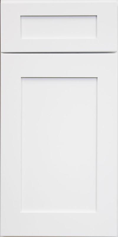 Hampton White Shaker Kitchen Cabinet
